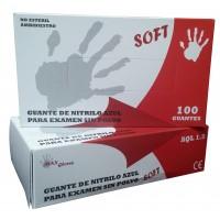 Guantes de Nitrilo Sin Polvo SOFT con Textura