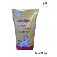 Saco Pienso Comida Sabor Carne para Gatos 20 Kg Docampo