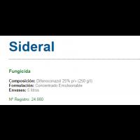 Sideral Fungicida de Sipcam