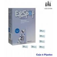 6 Pipetas Leishmaniosis 1 ML Exspot Pipette Perros Anti Pulgas Garrapatas, Piojo