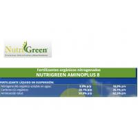 Nutrigreen Aminoplus 8, Fertilizante Orgánico