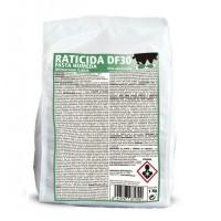 Pasta Húmeda Raticida Df-30 Ratas y Ratones Cebo Fresco 1 Kg (100 Ud X 10 Gr)