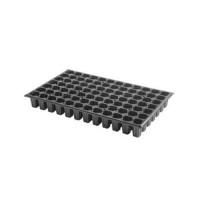 Semillero de Plástico Negro Bandeja para Plan