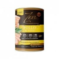 ZEN DOG Paté con Pollo y Pavo Sin Cereales/gl