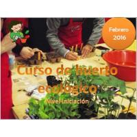 Curso de Huerto Ecológico. Iniciación.