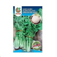 Semillas de Grelos de Lugo Marca WAM Bolsa de 100 Gr