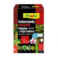 Tratamiento Completo Frutales y Árboles Caducos Flower - Aceite + Insecticida + Fungicida