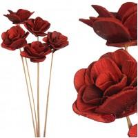 5 Flores Betel Rose. Material Natural Tratado