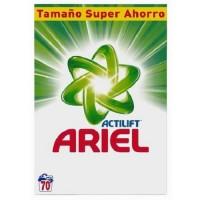 Ariel Original Detergente en Polvo Formato Ahorro 70 Lavados