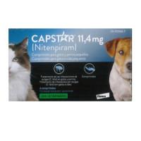 Capstar 11,4 Mg, 6 Comprimidos Perro / Gato P