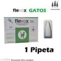 Pipeta Flevox 0,50 Ml Pulgas Garrapatas Fipronilo Gato Pipette Pipetas