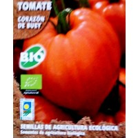 Tomate Corazón de Buey. Cultivo Ecologico. 0,2 Gr / 60 Semillas