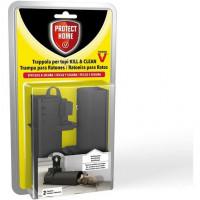 Trampa de Uso Limpio KILL & Clean Protect HOME para Ratones