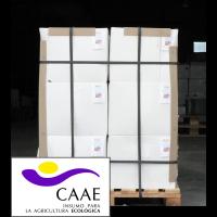 Bioestimulante Ecológico Trama y Azahar Fe-2, Abono CE. Sin Hormonas. Certificado CAAE.  Palet de 24 Cajas de 4 Garrafas X 5 Kg