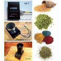 Medidor de Humedad para Granos, Cereales, Semillas, Harinas - Measure Instruments