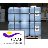 Palet al 50% de Bioestimulante Ecológico Trama y Azahar B-2 y Fe-2, Abono CE. Sin Hormonas. Certificado CAAE. 28 Garrafas X 20 Kg