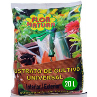 Sustrato Universal para Plantas Interior/exterior. 20 L