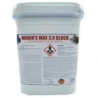 Biotrends Warin´s MAX 3.0 Raticida Bloque con Brodifacoum 0,0025% para Control de Ratas y Ratones 3 Kg
