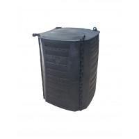 Compostador Doméstico 500 L - Especial Jardín O Huertos, Material Reciclado y Reciclable 100%