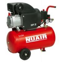 Compresor Nuair 24L 2HP 8 Bares Garantizado