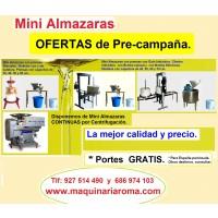 Maquinaria para la Elaboración de Aceite de Olivas. Vinos