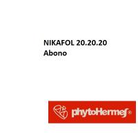 Nikafol 20 20 20, Abono Foliar de Phytohermes