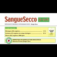 Sangue Secco N14-R  . Uso en Cobertera. Fertilizante Orgánico Nitrogenado Seco de Farpro