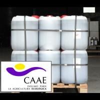 Bioestimulante Ecológico Trama y Azahar Fe-2, Abono CE. Sin Hormonas. Certificado CAAE.  Palet de 28 Garrafas X 20 Kg