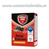 Protect Home Pasta, Mata Ratas y Ratones en Cebo Fresco (Brodifacum) - 150Gr