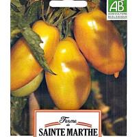 Tomate Ecológico Platano. Banana Leggs. 0,12 GR. 30 Semillas. Tomate Amarillo.
