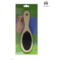Cepillo 2 en 1 con Doble Cara para Perros con Tapas Protectoras y Cerdas