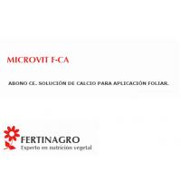Microvit F-Caabono CE. Solución de Calcio par