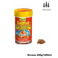 Alimento Completo en Copos Tetra Goldfish 1L para Carpines Dorados Peces de Agua Fría