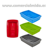 Bandeja de Arena - Gatera Plasticforte (Azul)