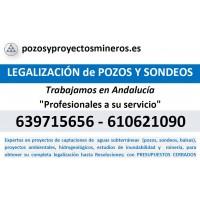 Legalización de Pozos y Sondeos Www.pozosyproyectosmineros.es