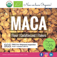 Maca Organic Genatilized Powder