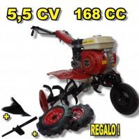 Motoazada 168 Cc, 5,5 cv, 90 Cm. Powerground+Kit Agrícola