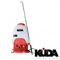 Sulfatadora de Batería KUDA de 12v, con Capacidad de 25 Litros
