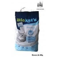 Arena Lecho Gatos Biokat's Bianco Classic 5Kg