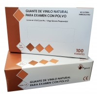 Guantes de Vinilo PVC Pre Empolvados MAX Glov