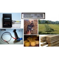 Medidor de Humedad para Andana O Hilera de Pasto - Measure Instruments