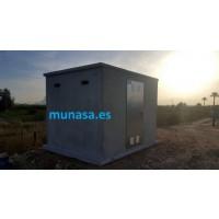 Caseta de Hormigón Prefabricado para Riegos, Campo, Huerta,colectores, Servicios Varios,
