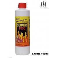 Gel Encendido de Leña y Carbón Super FOC 400M
