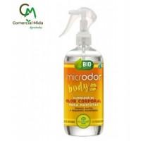 Microdor BODY 500 Ml Eliminador de Olor Corporal para Perros,gatos y Pequeños Mamíferos
