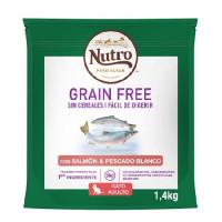 Nutro Grain FREE Gatos Adultos Salmón y Pesca