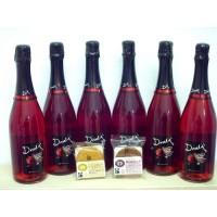 Pack Dovela 6 Botellas Vino Espumoso de Fresa