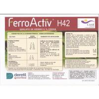 Quelato de Hierro Ecológico: Ferroactiv H42 6 %  Eddha