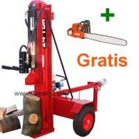 Rajadora de Leña 22Ton/gasolina+Motosierra Gratis