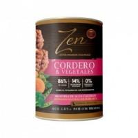 ZEN DOG Paté con Cordero  y Vegetales Sin Cer
