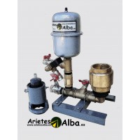 Ariete Alba de 1 Pulgada con Válvula de Choque de 2 Pulgadas y Media Fabricado en Latón